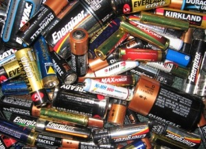 Batteries can be recycled in libraries and supermarkets across the borough.