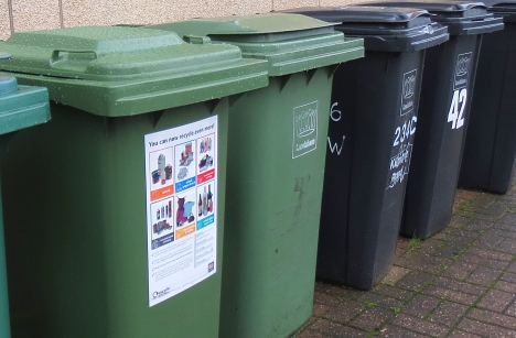 Don't forget to put your bins out if you want a collections over Christmas and New Year.