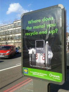 JC Decaux signs as seen all across the borough