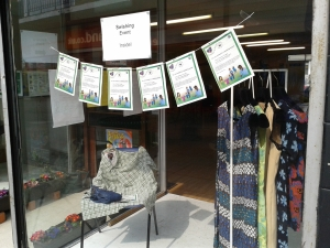Window dressing at the swishing event