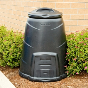 A 220 litre compost bin