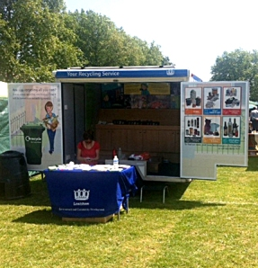 A glorious day in the sunshine for the Midsummer Fayre in Hilly Fields Park