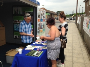 We spoke to over 50 people at Downham Health & Leisure Centre
