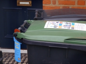 Full details of where your nearest text bank is can be found on the bin hanger.