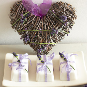 The link above has all the information you need on how to make your own lavender soap