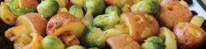 Sweet and sour potatoes and sprouts from LFHW website: http://goo.gl/Lf5y62