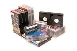 Videos, music cassettes, toys, laminated documents, electrical items cannot be recycled in your green bin