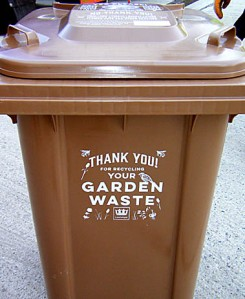 The design on the new garden waste bins